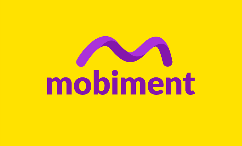 mobiment logo - Premium mobile domain
