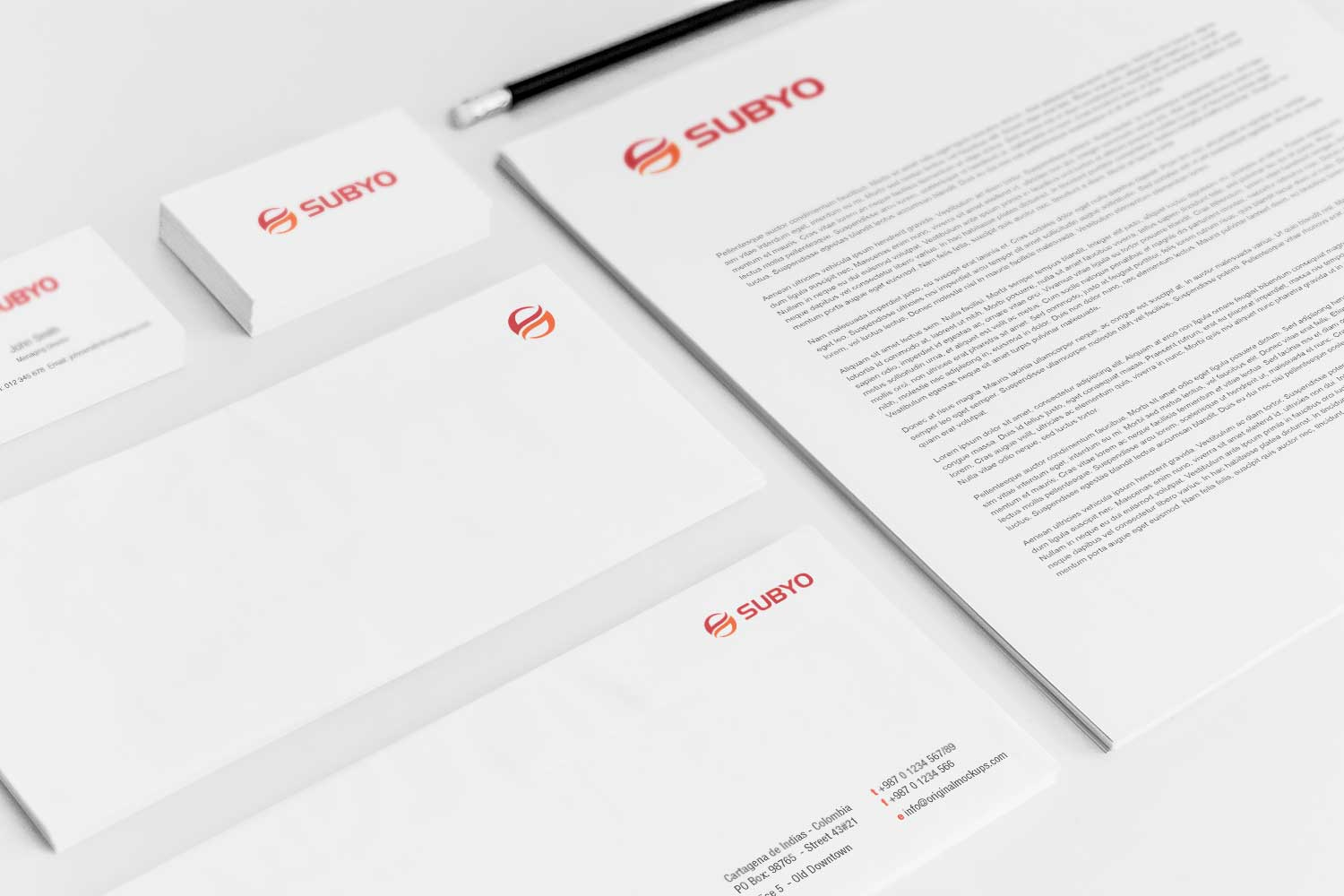 Sample branding #3 for Subyo