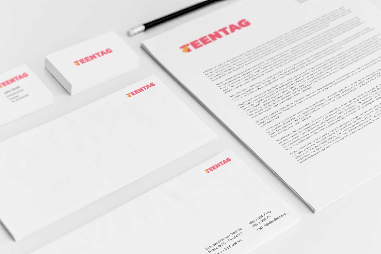 Sample branding #3 for Teentag