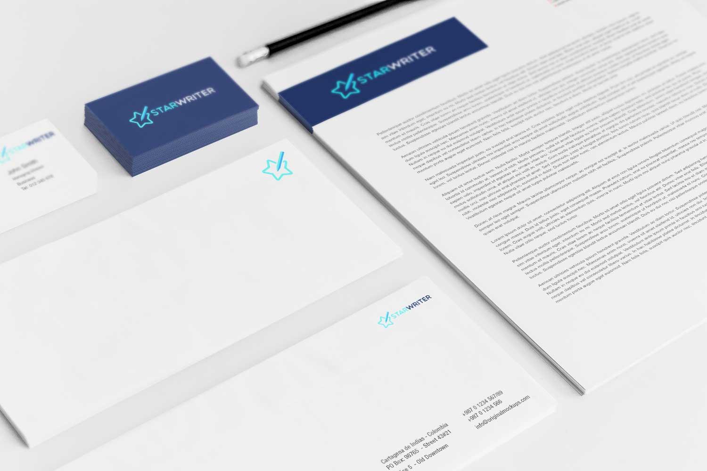 Sample branding #3 for Starwriter