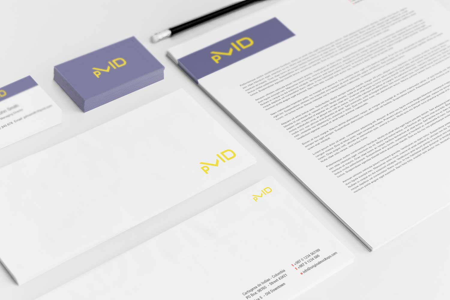 Sample branding #3 for Pvid