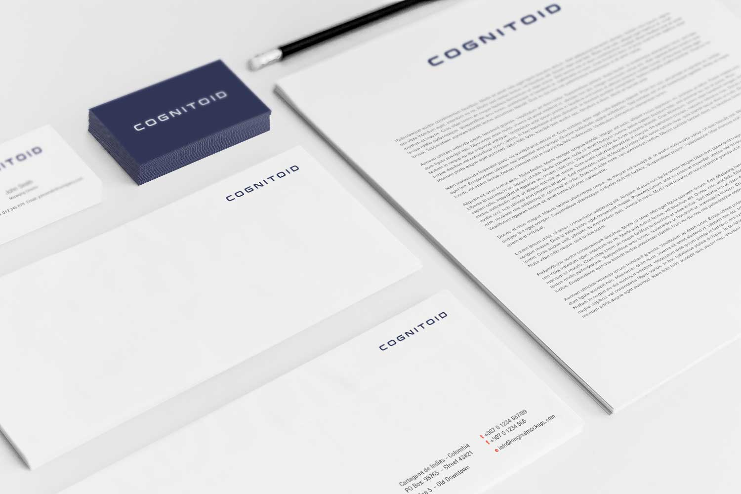 Sample branding #1 for Cognitoid