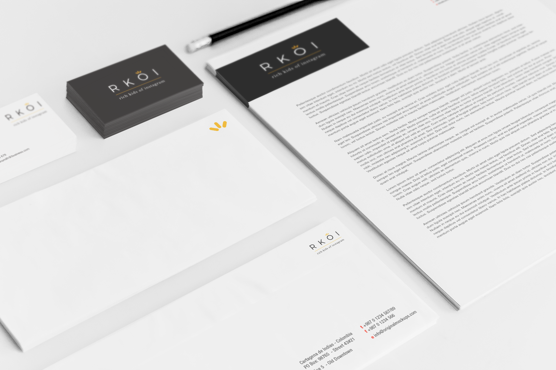 Sample branding #3 for Rkoi
