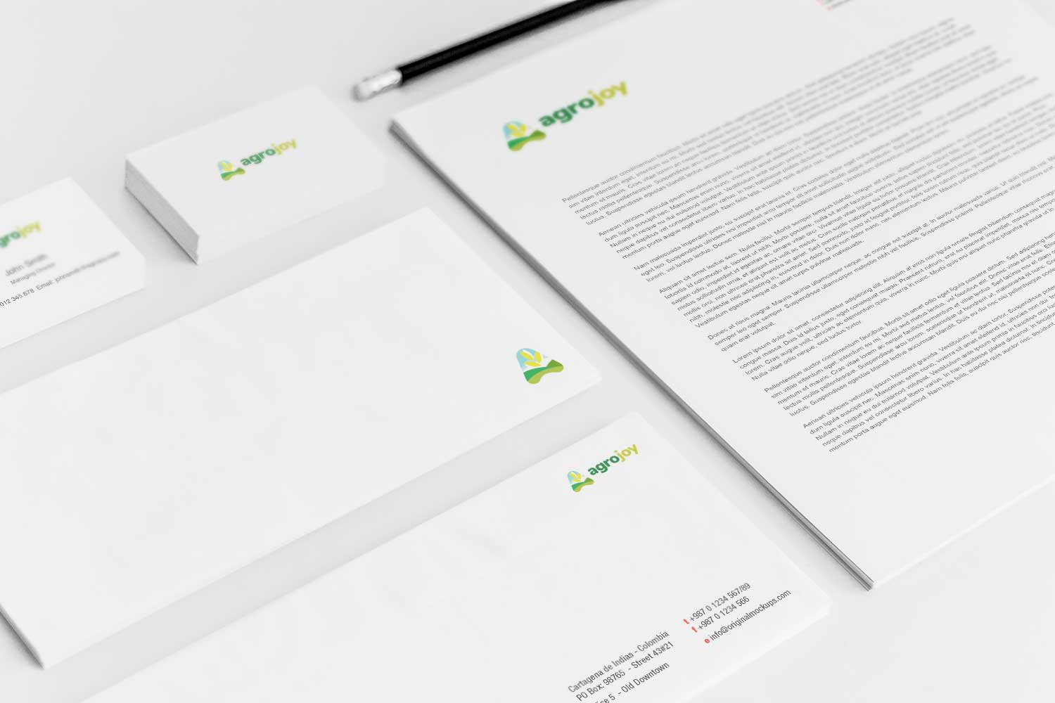 Sample branding #3 for Agrojoy