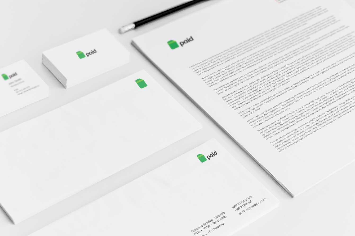 Sample branding #3 for Paid