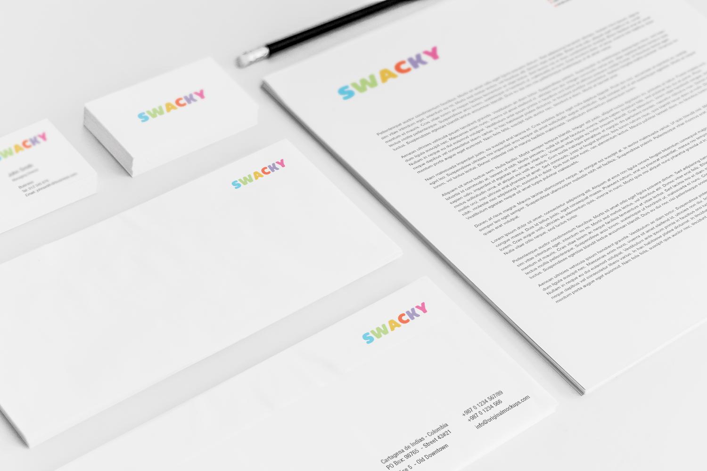 Sample branding #3 for Swacky