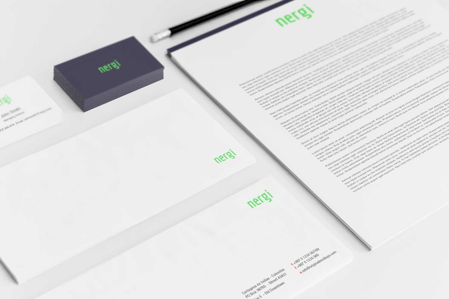Sample branding #3 for Nergi