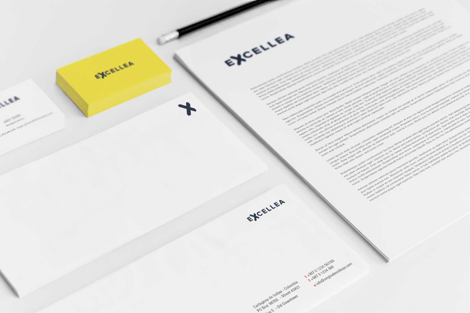 Sample branding #3 for Excellea