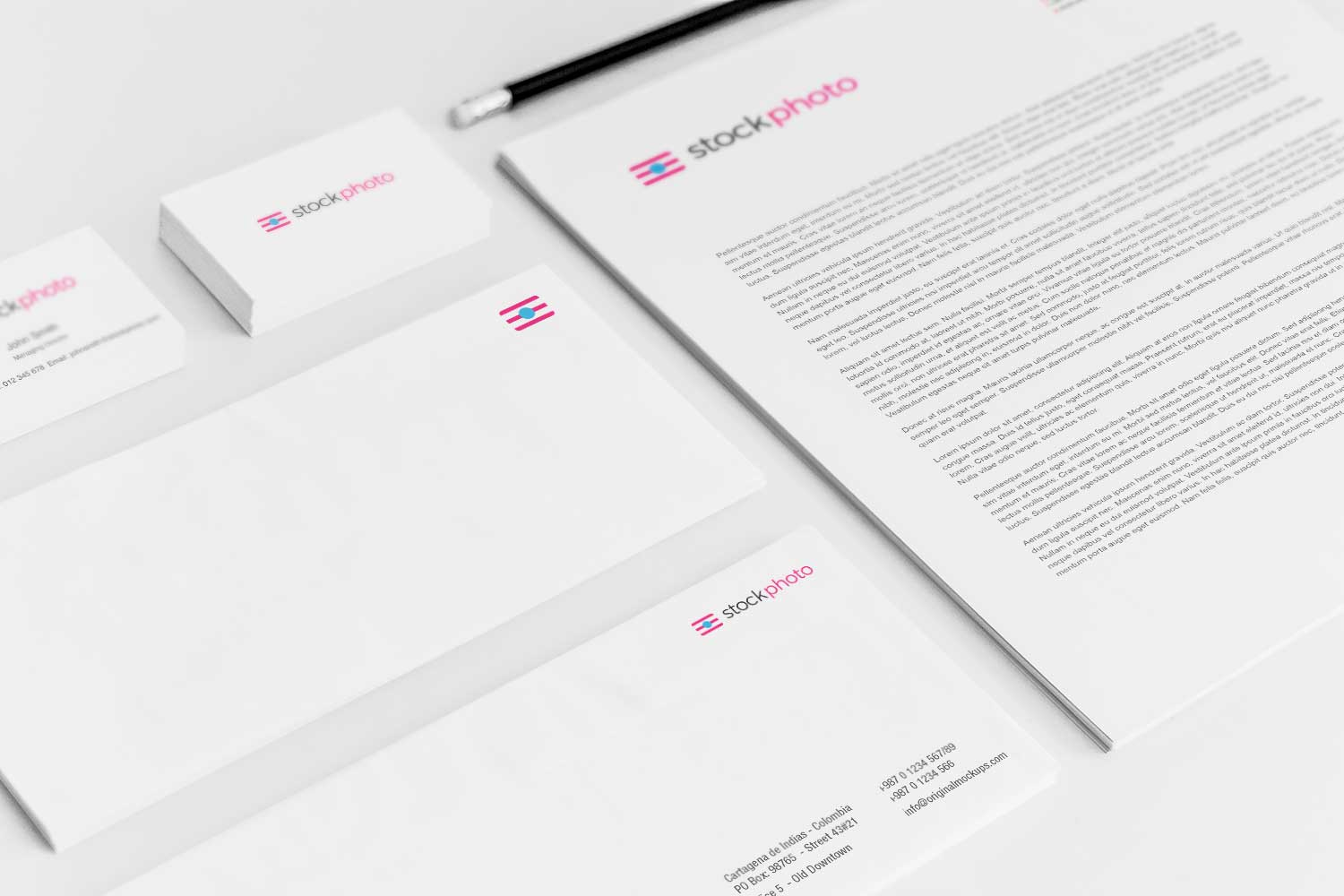 Sample branding #3 for Stockphoto