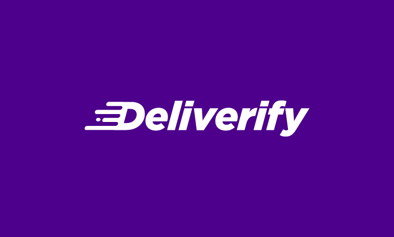 Deliverify - A great domain name for a delivery business