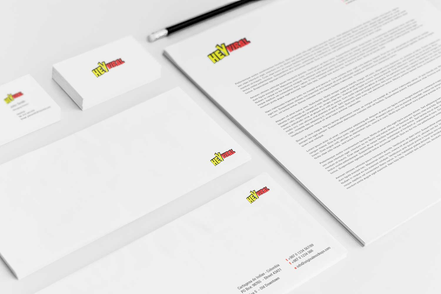 Sample branding #3 for Heyviral