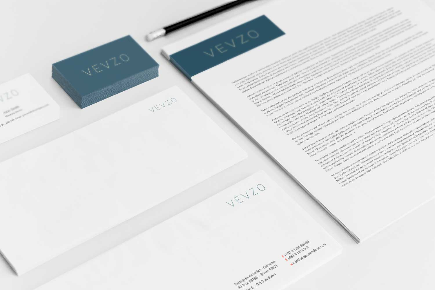 Sample branding #3 for Vevzo