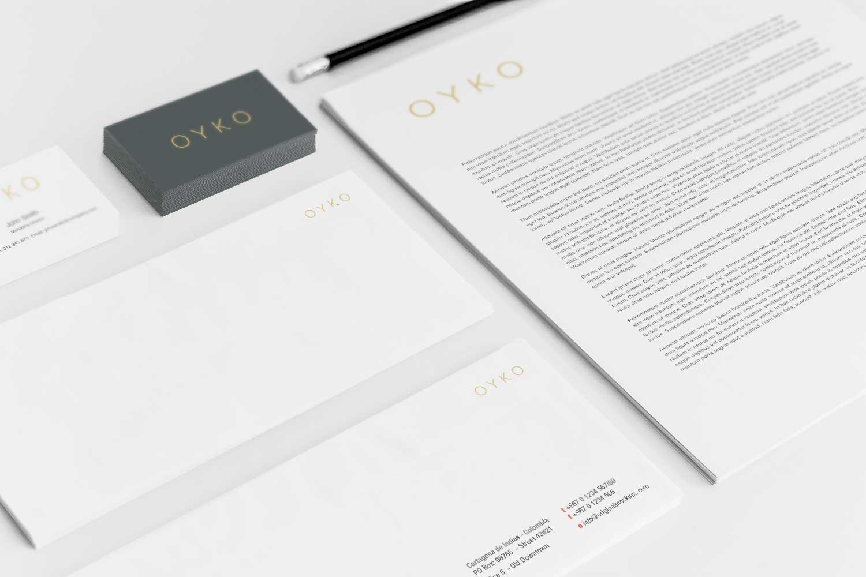 Sample branding #3 for Oyko