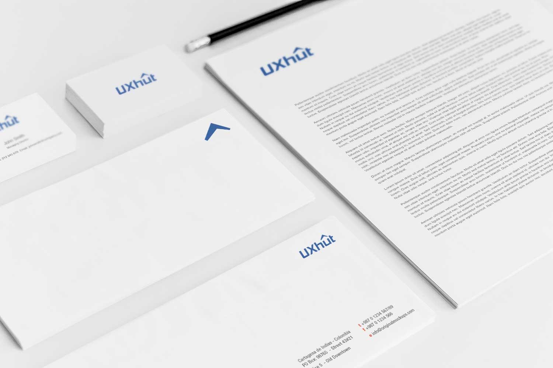 Sample branding #3 for Uxhut
