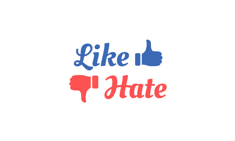 Likehate - Memorable opinion based name