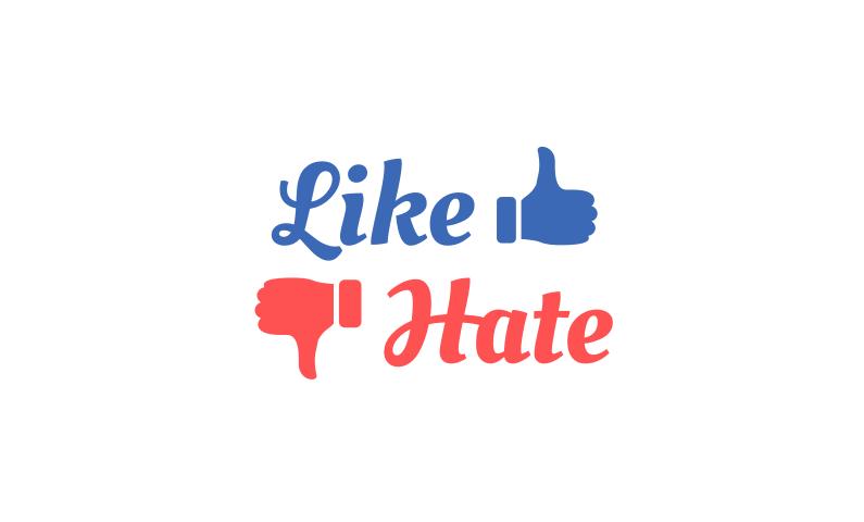 Likehate - Memorable opinion based name