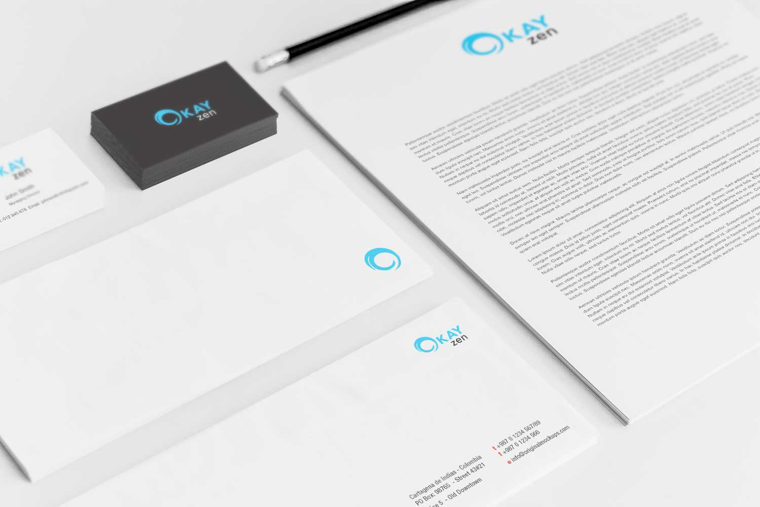 Sample branding #3 for Okayzen