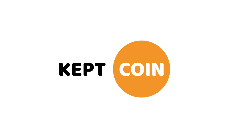 Keptcoin - Cryptocurrency startup name for sale