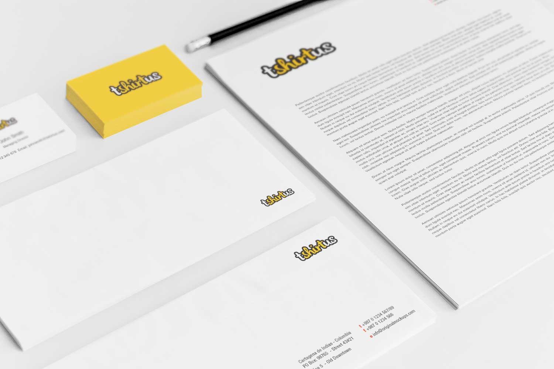 Sample branding #3 for Tshirtus