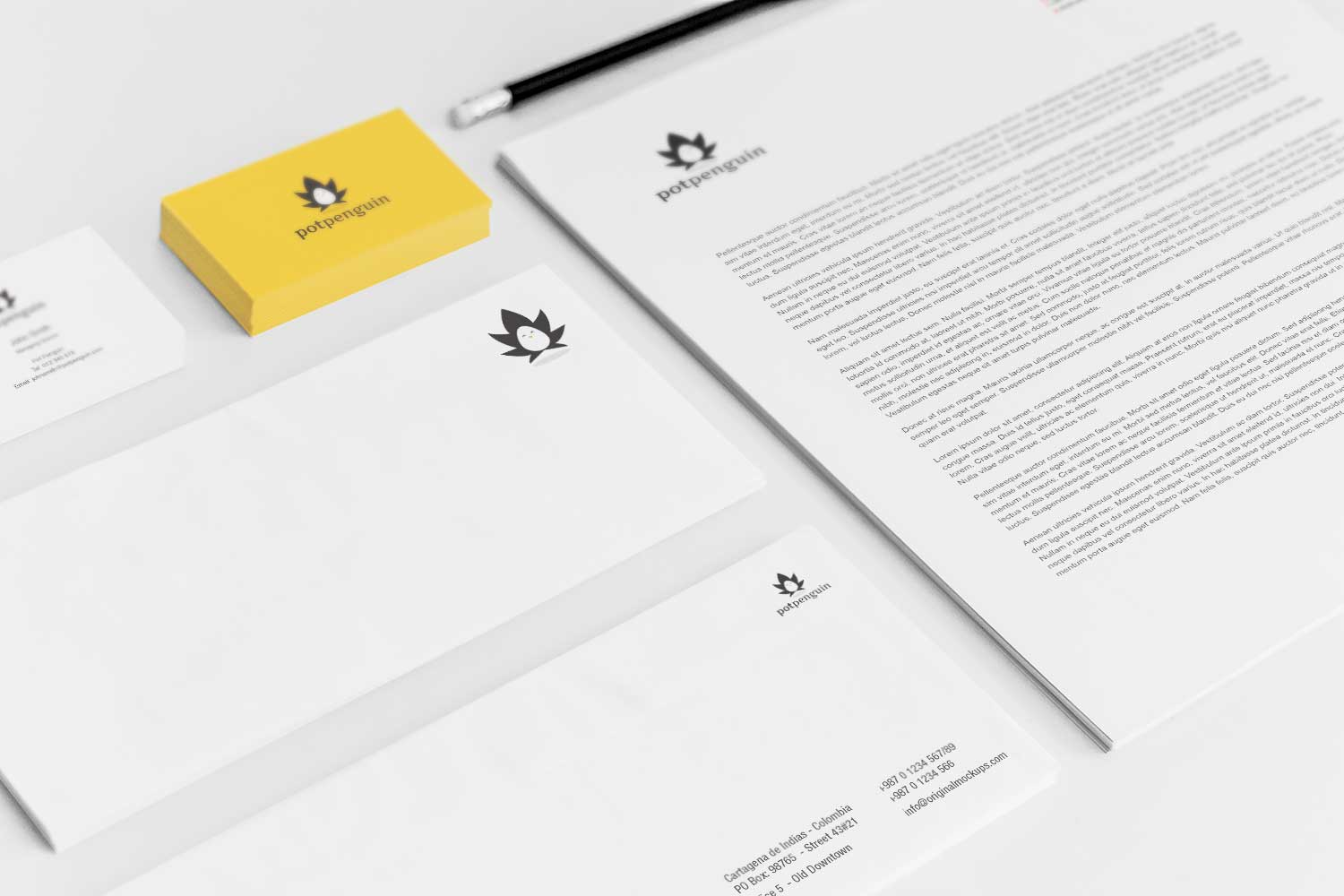 Sample branding #3 for Potpenguin