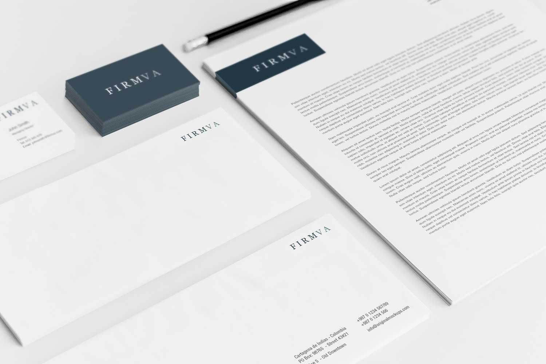 Sample branding #3 for Firmva