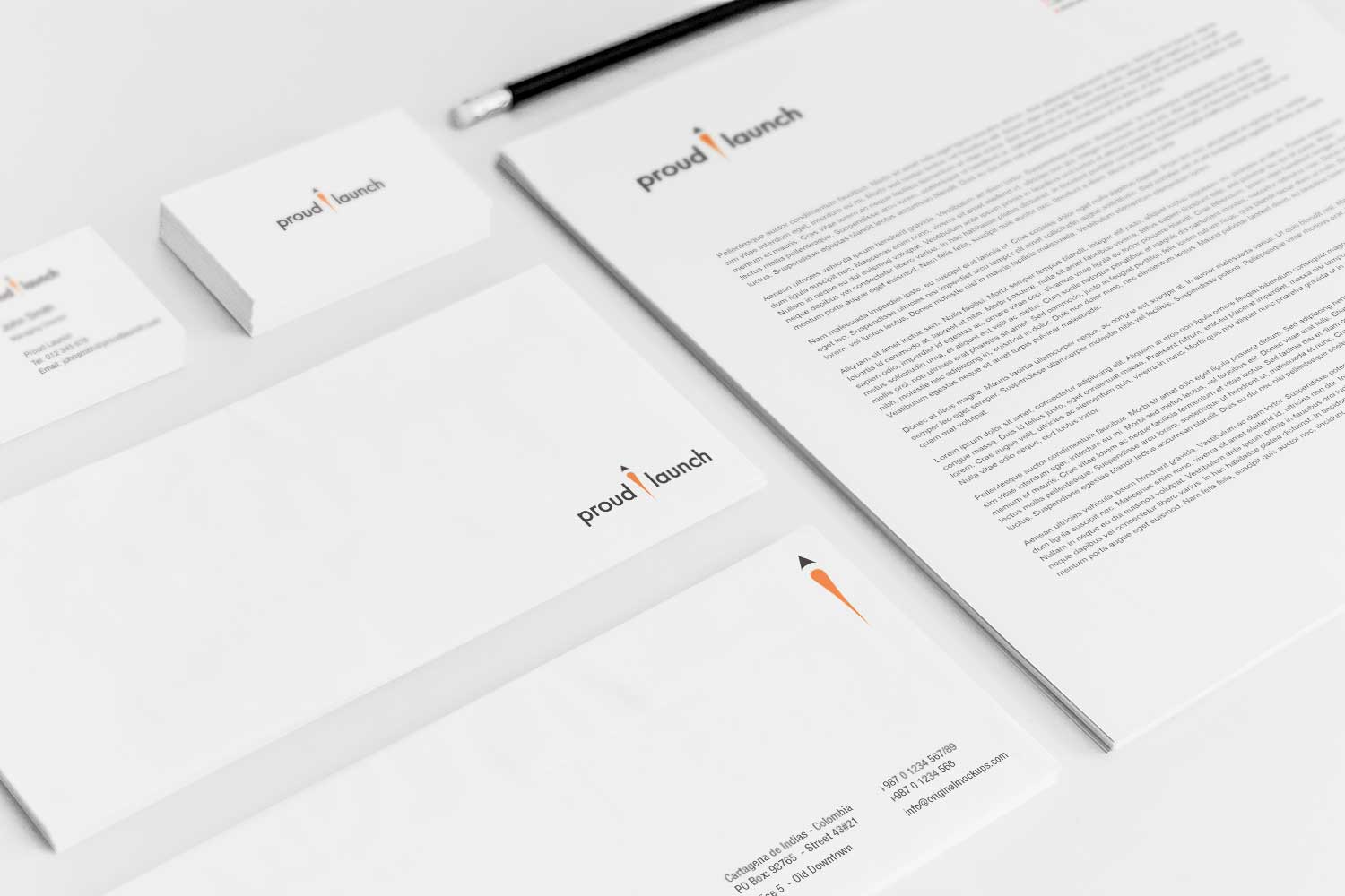 Sample branding #3 for Proudlaunch