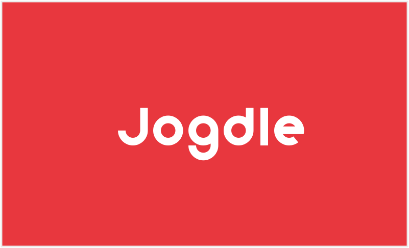 Jogdle - Perfect name for a running app