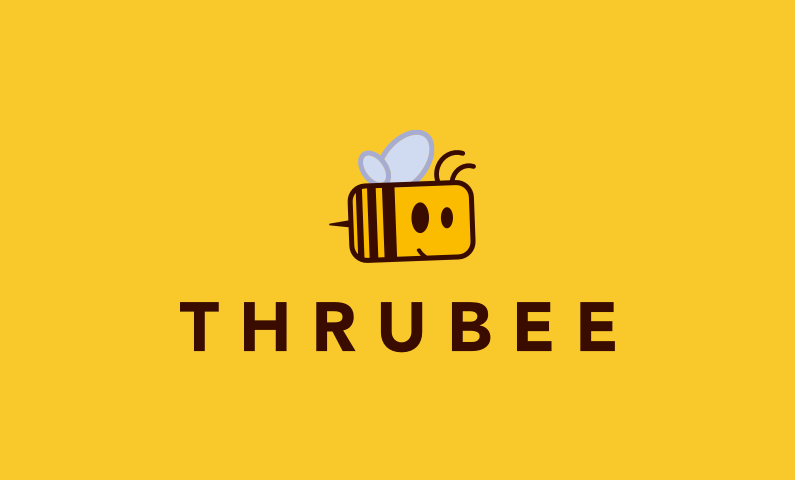 Thrubee - Charming app or startup name