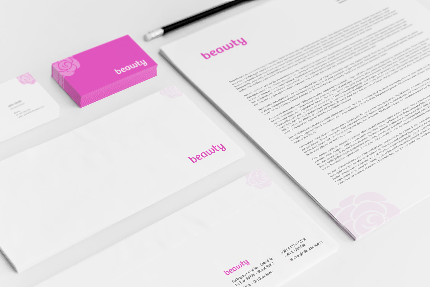 Sample branding #3 for Beawty