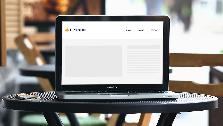 Sample branding #1 for Eryson