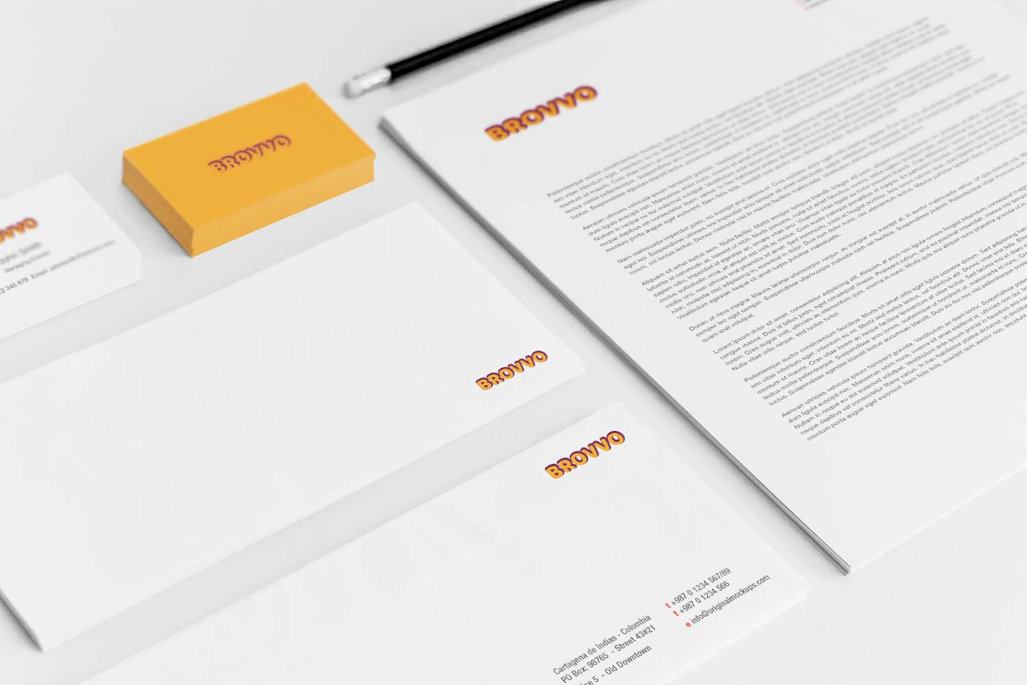 Sample branding #3 for Brovvo