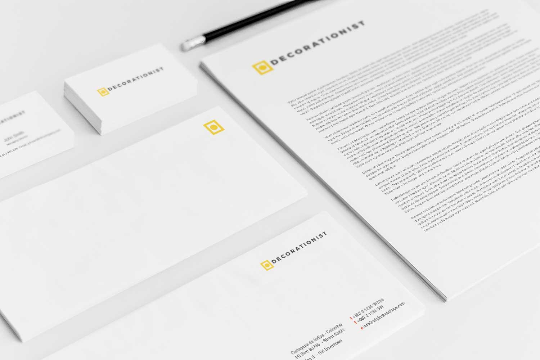 Sample branding #3 for Decorationist