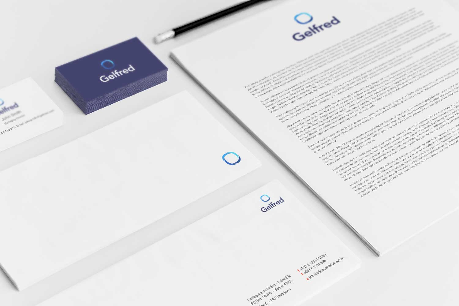 Sample branding #3 for Gelfred