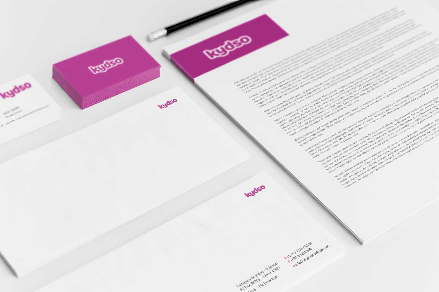 Sample branding #3 for Kydso