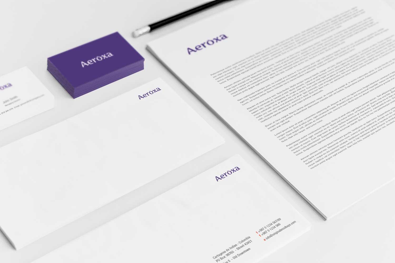 Sample branding #3 for Aeroxa