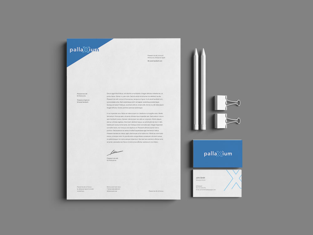 Sample branding #3 for Pallaxium