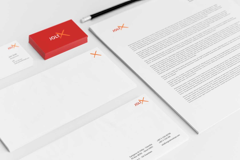 Sample branding #2 for Joltx