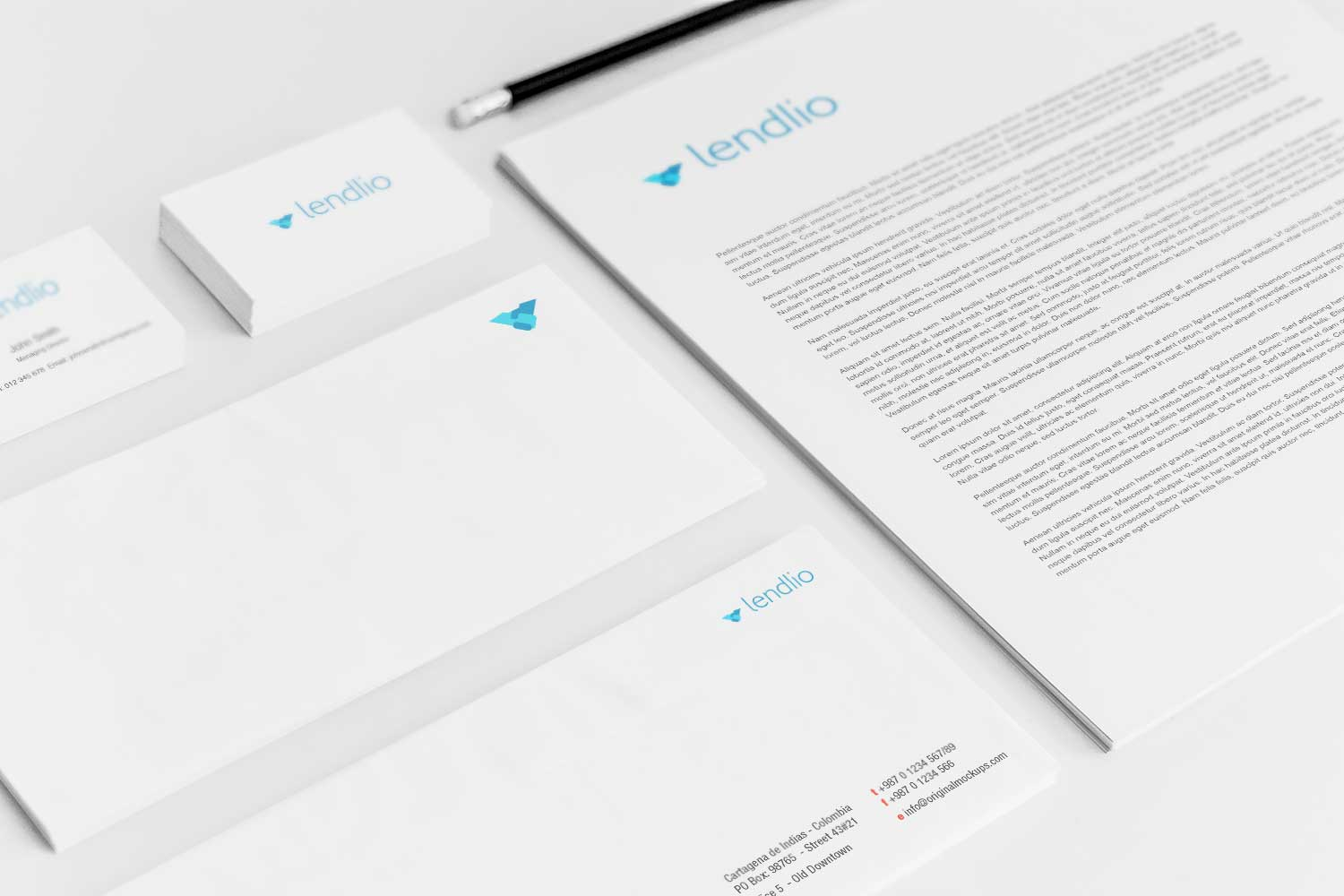 Sample branding #3 for Lendlio