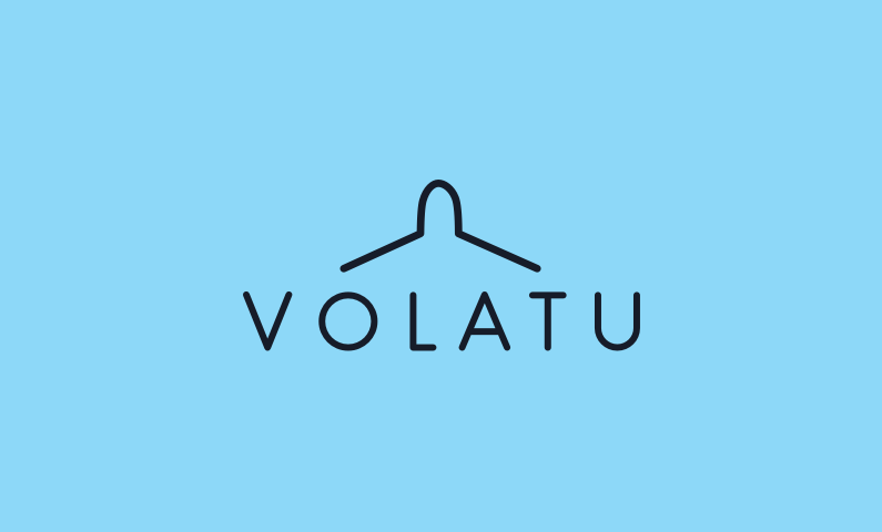 Volatu logo - Business name for a company in the aerospace industry