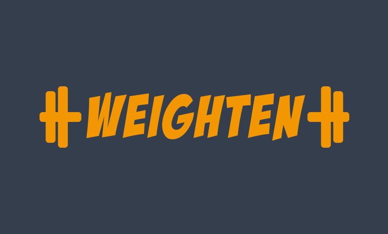 Weighten - Fitness / weight training brand name