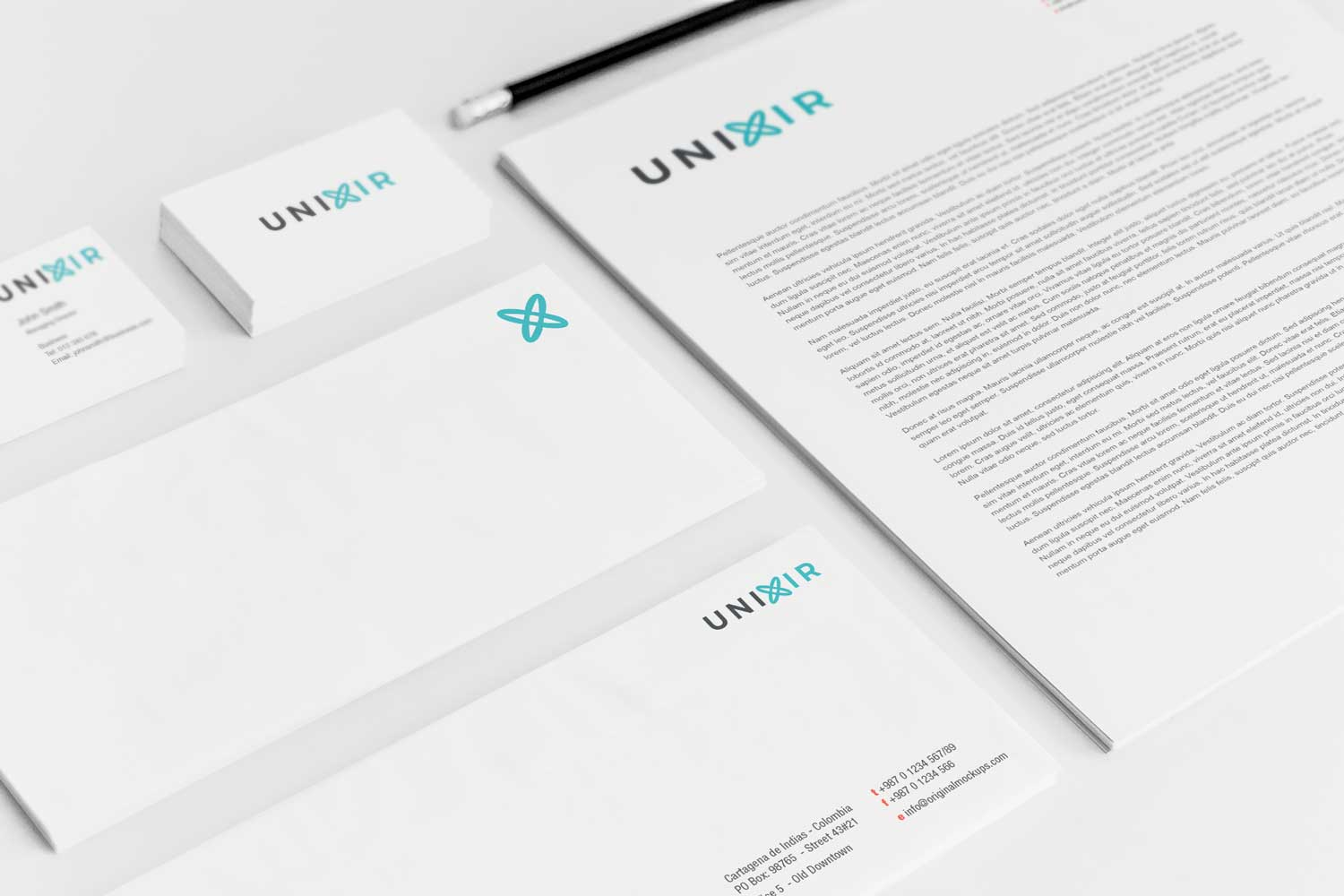 Sample branding #3 for Unixir