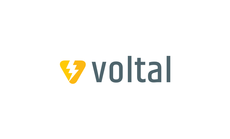 Voltal - Electronics business name for sale