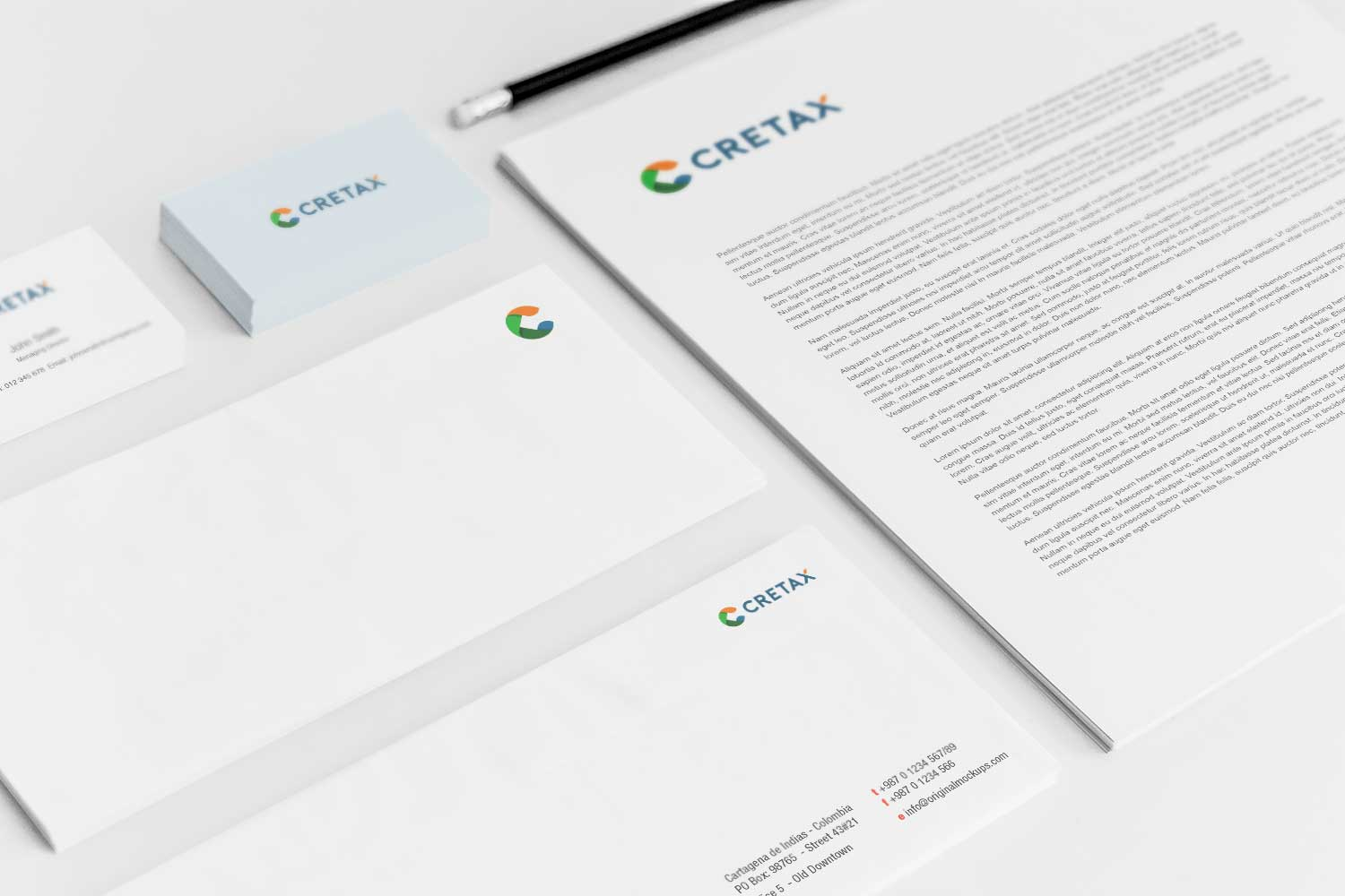 Sample branding #3 for Cretax