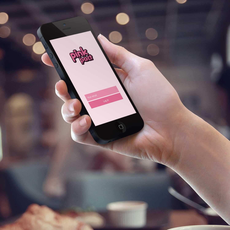 Sample branding #1 for Pinkpact