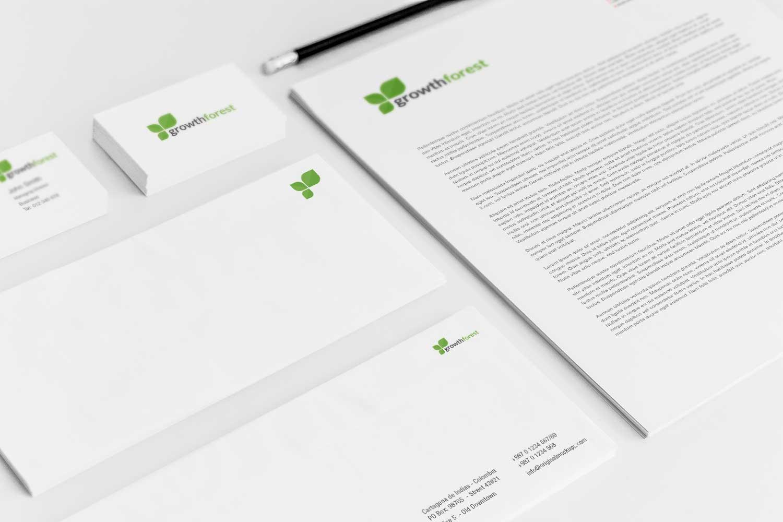 Sample branding #3 for Growthforest