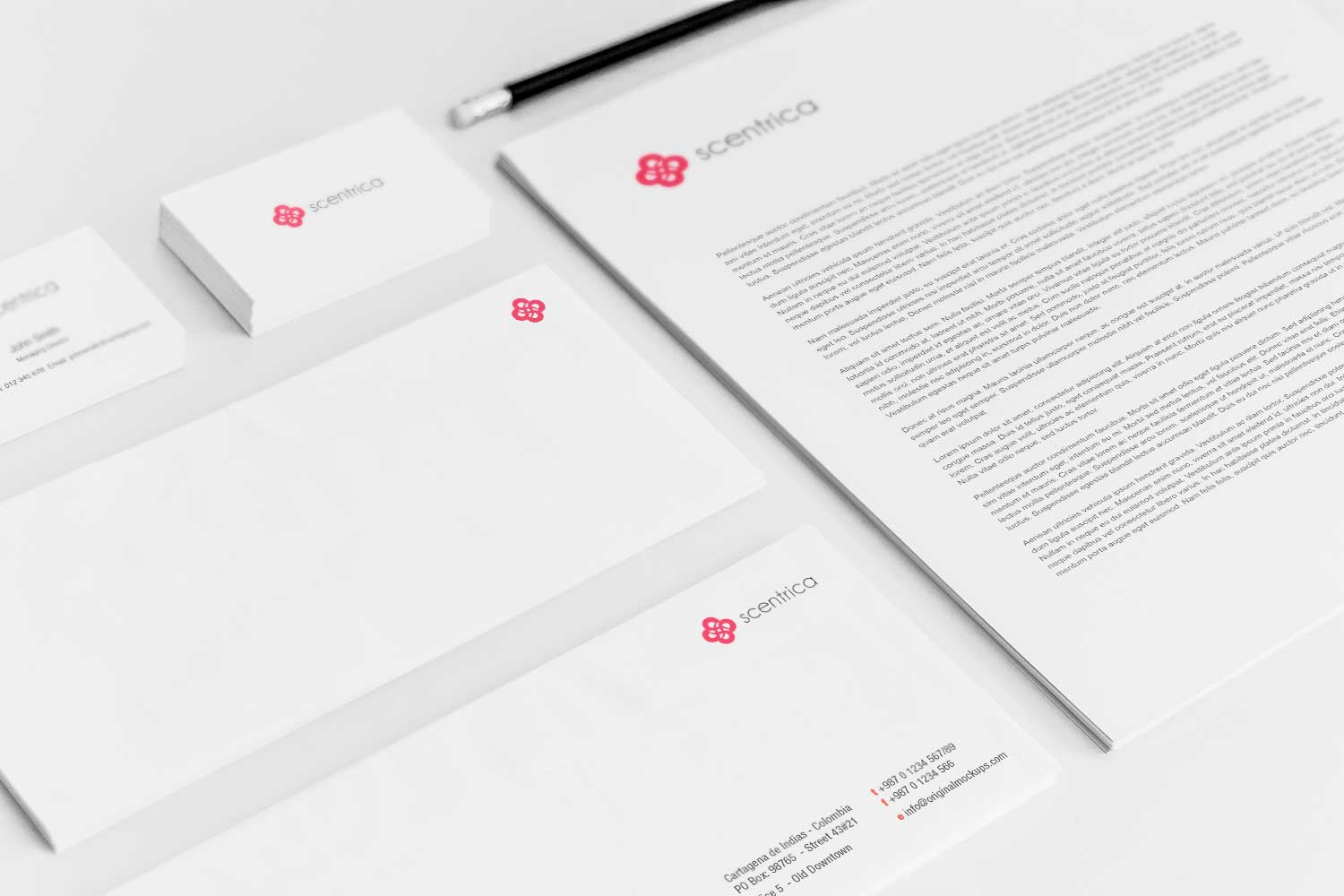 Sample branding #3 for Scentrica