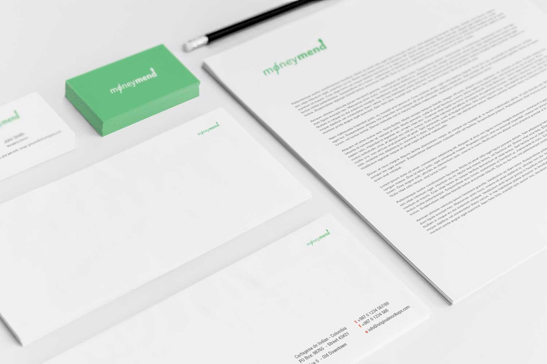 Sample branding #3 for Moneymend