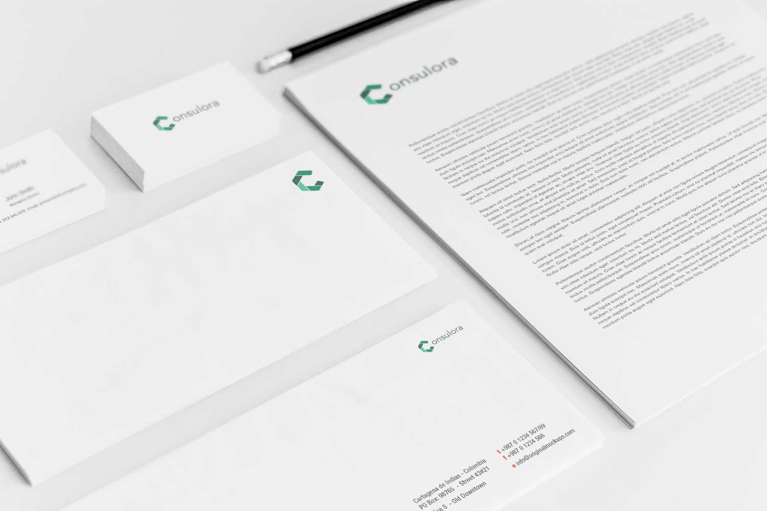 Sample branding #3 for Consulora