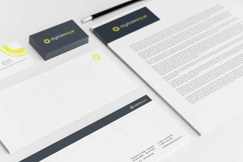 Sample branding #3 for Digitalesque