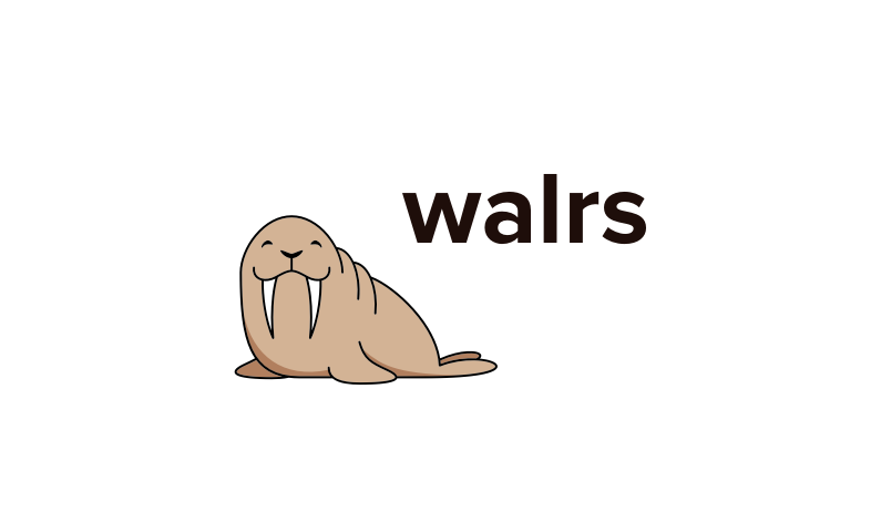 Walrs - Fun and highly brandable domain name